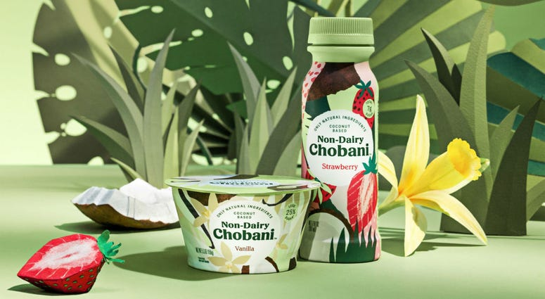 Chobani's non-dairy line is coconut based