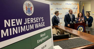 Thousands of New Jersey workers are getting a raise Monday as a hike in the minimum wage takes effect.