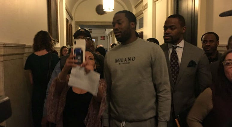 Meek Mill weekend in Philadelphia begins Friday, and City Council bestowed the honor on the rapper at Thursday's session.