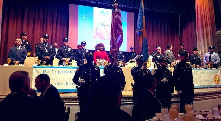 An annual luncheon brought together the men and women in blue from across the Delaware Valley, and one from Chicago who had a unique message for police officers about being backed by their prosecutors.