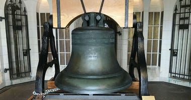 "100 years ago, Pennsylvania became the seventh state to vote in favor of the 19th Amendment, which gave women the right to vote. A celebration in Valley Forge included the ringing of what's known as the ""Women's Liberty Bell."""