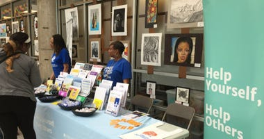 The Department of Behavioral Health and Intellectual Disability Services offered details about its services at the School District of Philadelphia building.