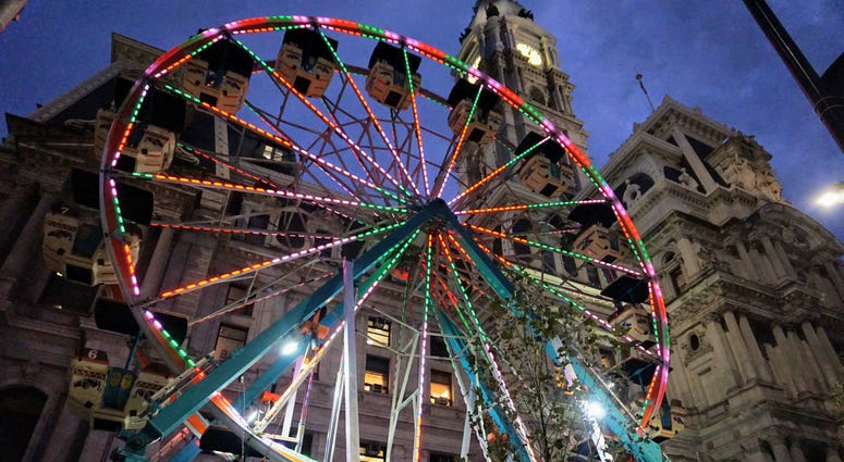 Ferris Wheel at the Christmas Village