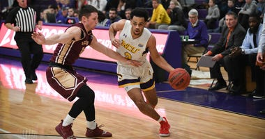 West Chester University freshman guard Robbie Heath is averaging 23.7 points per game this season.