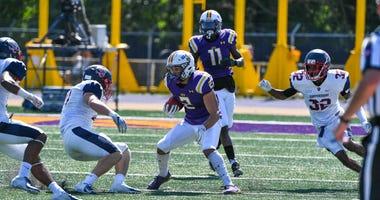 West Chester University junior wide receiver Lex Rosario.