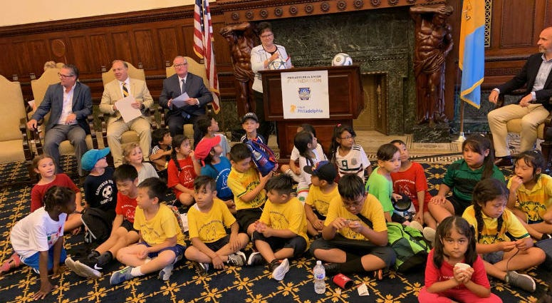 Philadelphia is getting 17 new soccer pitches. City officials say the $3.5 million project will bring local facilities in line with local enthusiasm for the sport.