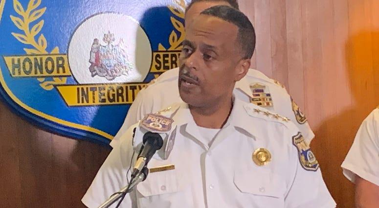 Philadelphia Police Commissioner Richard Ross