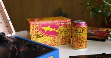 Dogfish Head Grateful Dead beer