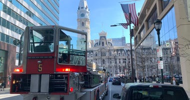 Gas evacuations in Center City