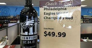 Eagles victory bottle