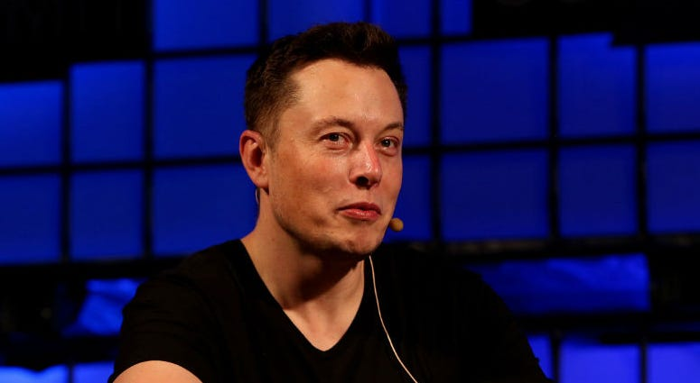 File photo dated 31/10/13 of Elon Musk who has said he would send engineers to help the young footballers trapped in a cave in Thailand.