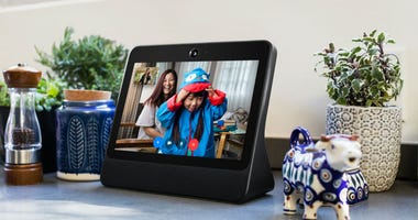 This image provided by Facebook shows the company's product called Portal.