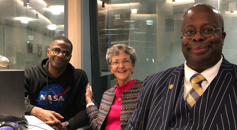 This week's panel includes Sister Cathy Nerney, Ph.D., Chad Dion Lassiter, Dawan Williams, and Luis Berrios (not pictured)