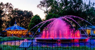 New upgrade for Franklin Square Fountain has been unveiled.
