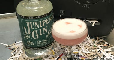 Shred a photo of your ex, and sample Juniper Gin from Bluebird Distillery.