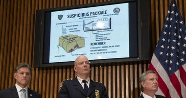 Suspicious packages sent to Democrats