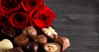 Valentine's Day celebrations.