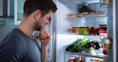 Man vs refrigerator