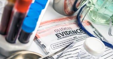 Police lab evidence