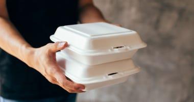 Man delivering meals