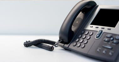 Call center phone