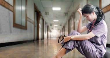 Nurse under stress