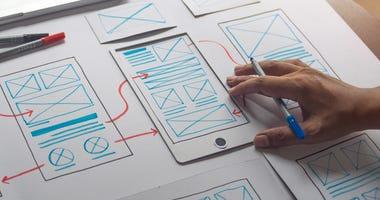 Mobile app planning