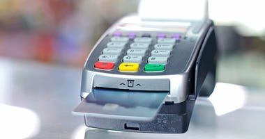 A credit card machine.