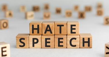 Hate speech blocks.