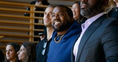Kanye West attends 2019 New York Times Dealbook on November 06, 2019 in New York City.