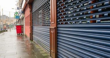 Shuttered businesses