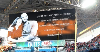 Kobe Bryant tribute at Super Bowl