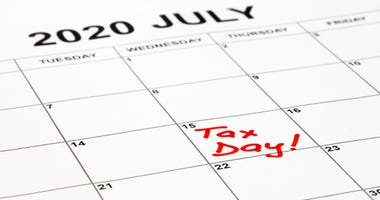 The deadline for filing federal income taxes was extended to July 15, 2020, because of the coronavirus pandemic.