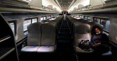 Amtrak ridership down during coronavirus