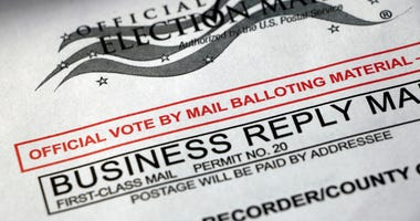 Mail-in ballot material