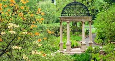 The Pierce's Woods Love Temple, a Pergola at Longwood Garden, near Kennett Square, Pennsylvania