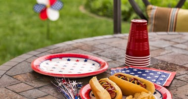 Food on July Fourth