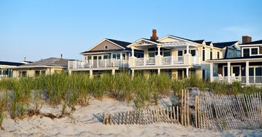 Beach house in New Jersey