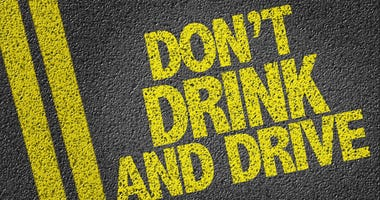 """""""Don't drink and drive"""" ad campaign."""