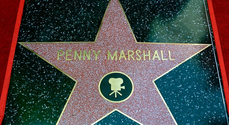 Penny Marshall's star
