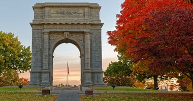 The Memorial Arch at Valley Forge National Park