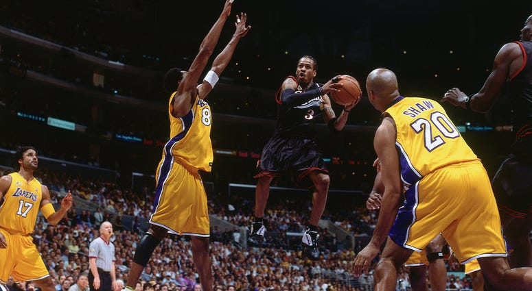 Sixers Lakers June 6, 2001