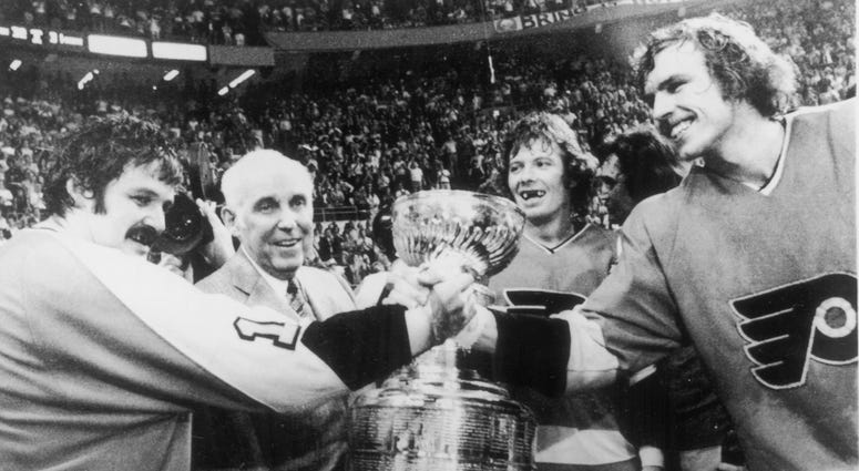 Flyers win Stanley Cup 1975