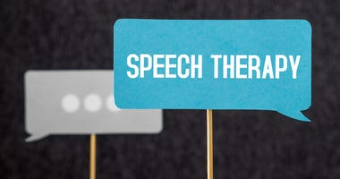 Speech therapy sign
