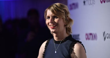 OUT100 Newsmaker of the Year Chelsea Manning attends OUT Magazine #OUT100 Event presented by Lexus at the the Altman Building on November 9, 2017 in New York City.