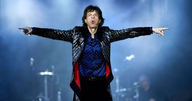 Mick Jagger of The Rolling Stones performs live on stage on the opening night of the european leg of their No Filter tour at Croke Park on May 17, 2018 in Dublin, Ireland.