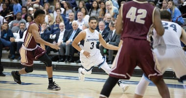 Senior guard Kylan Guerra is fifth in Jefferson program history with 508 career assists.