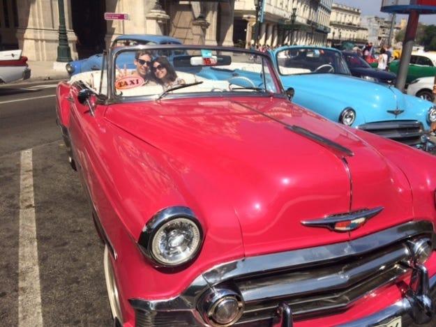 Havana 50s Chevy