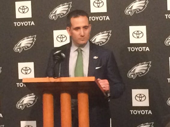 Eagles General Manager Howie Roseman