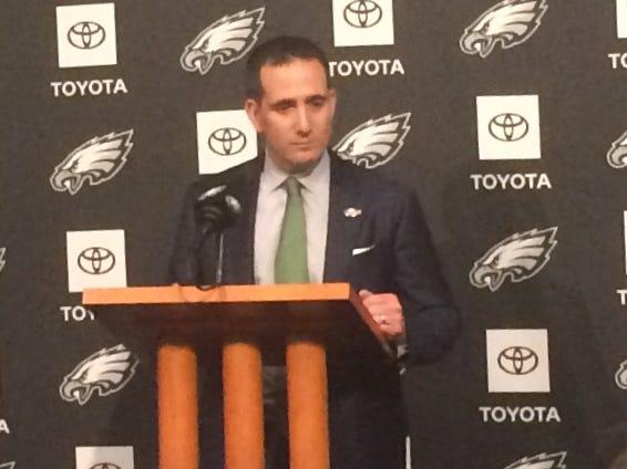 Eagles General Manager Howie Roseman